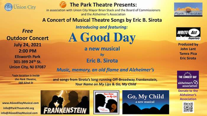 A Good Day – songs from musicals – Free outdoor concert