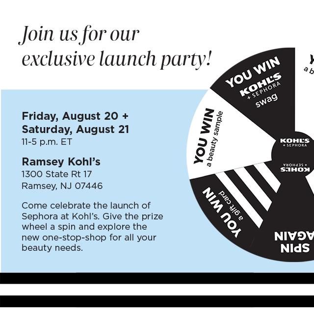Kohl's + Sephora Launch Party