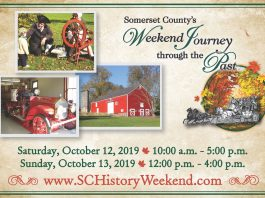 Somerset County's 14th Annual Weekend Journey through the Past