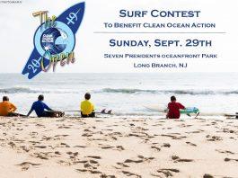 Clean Ocean Action Surf Contest