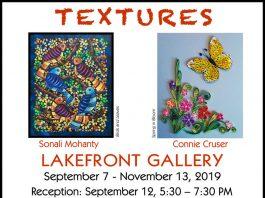 Textures - a Mixed Media Exhibit