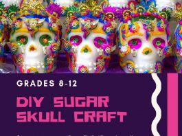 Teen Sugar Skull Craft @ Iselin
