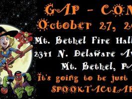 Gap Con! Halloween Comic Book Expo