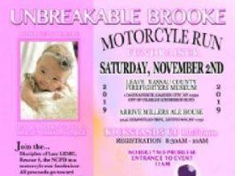 Motorcycle Run Fundraiser for #UnBreakableBrooke