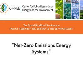"Bradford Seminar Series: ""Net-Zero Emissions Energy Systems"""