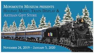 Holiday Model Trains at the Monmouth Museum