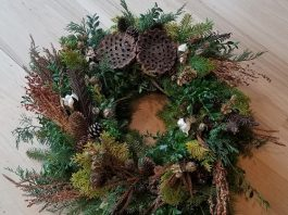 Make Your Own Holiday Wreath at Morven