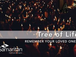 Samaritan Healthcare & Hospice Tree of Life Ceremony