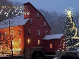 Red Mill Museum Village Festival of Trees 2019