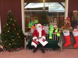 Visit Santa in the Barnyard at Terhune Orchards