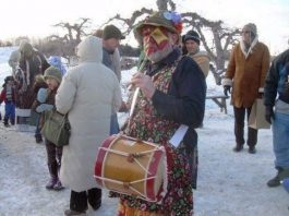 Wassailing the Apple Trees at Terhune Orchards