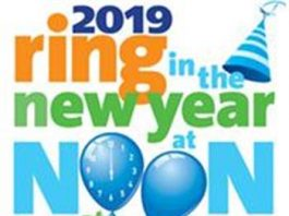 """10th Annual """"Ring in the New Year at Noon"""""""