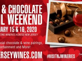 Wine & Chocolate Wine Trail Weekend at Terhune Orchards