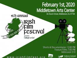 4th Annual Irish Film Festival presented by Claddagh na nGael