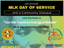 MLK Day of Service and A Community Dialogue!