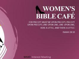 Women's Bible Café