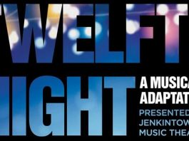 Jenkintown Music Theatre Presents TWELFTH NIGHT - a musical adaptation