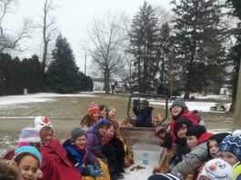 Winter Camp Days at Fernbrook Farms Environmental Education Center