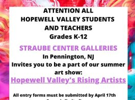 Straube Galleries Presents: Hopewell Valley's Rising Artists