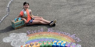 PHOTOS COURTESY OF GIRL SCOUT TROOP 83824