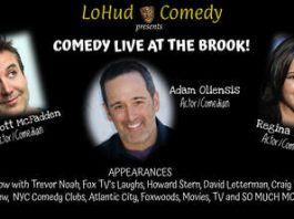 Comedy Night at the Brook Arts Center