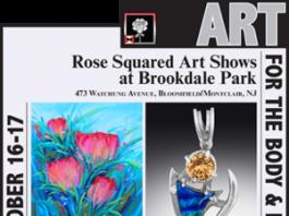 Rose Squared Art Show Brookdale Park
