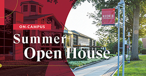 Rider University Summer Open House