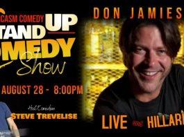 Comedian DON JAMIESON LIVE!