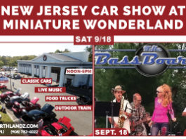 New Jersey Car Show at Miniature Wonderland