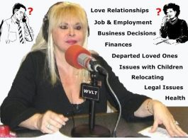 Valerie Morrison - Psychic Medium Live Radio Talk Show - Call with your Free Question about your concerns