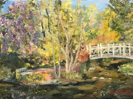 Exhibition: Paintings by Christine Ochab-DiCostanzo, Artist of the Month