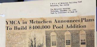 ARCHIVAL IMAGES PROVIDED BY METUCHEN YMCA