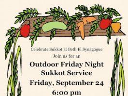 Beth El Synagogue Outdoor Sukkot Service